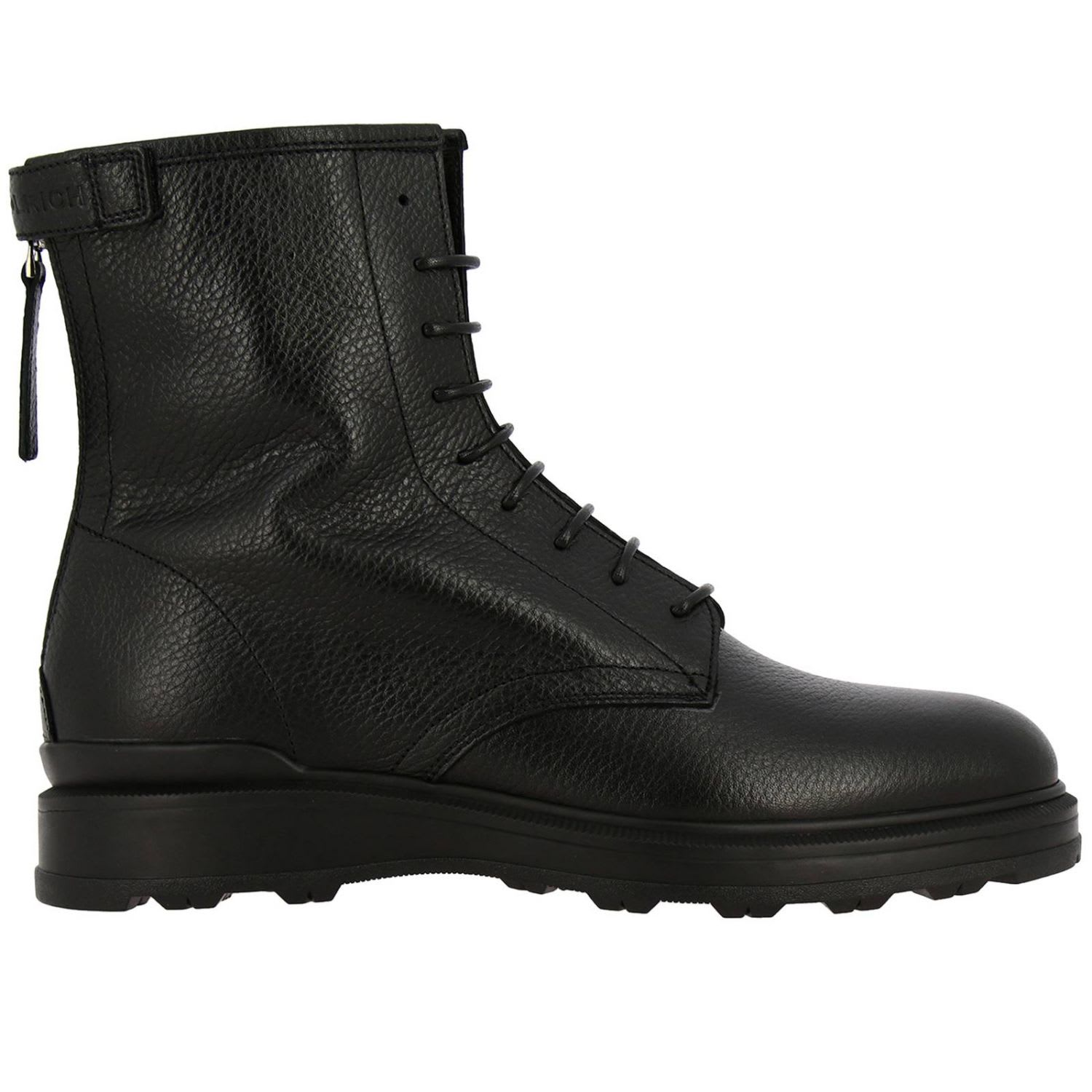 Woolrich Boots Woolrich Ankle Boots In Leather With Zip