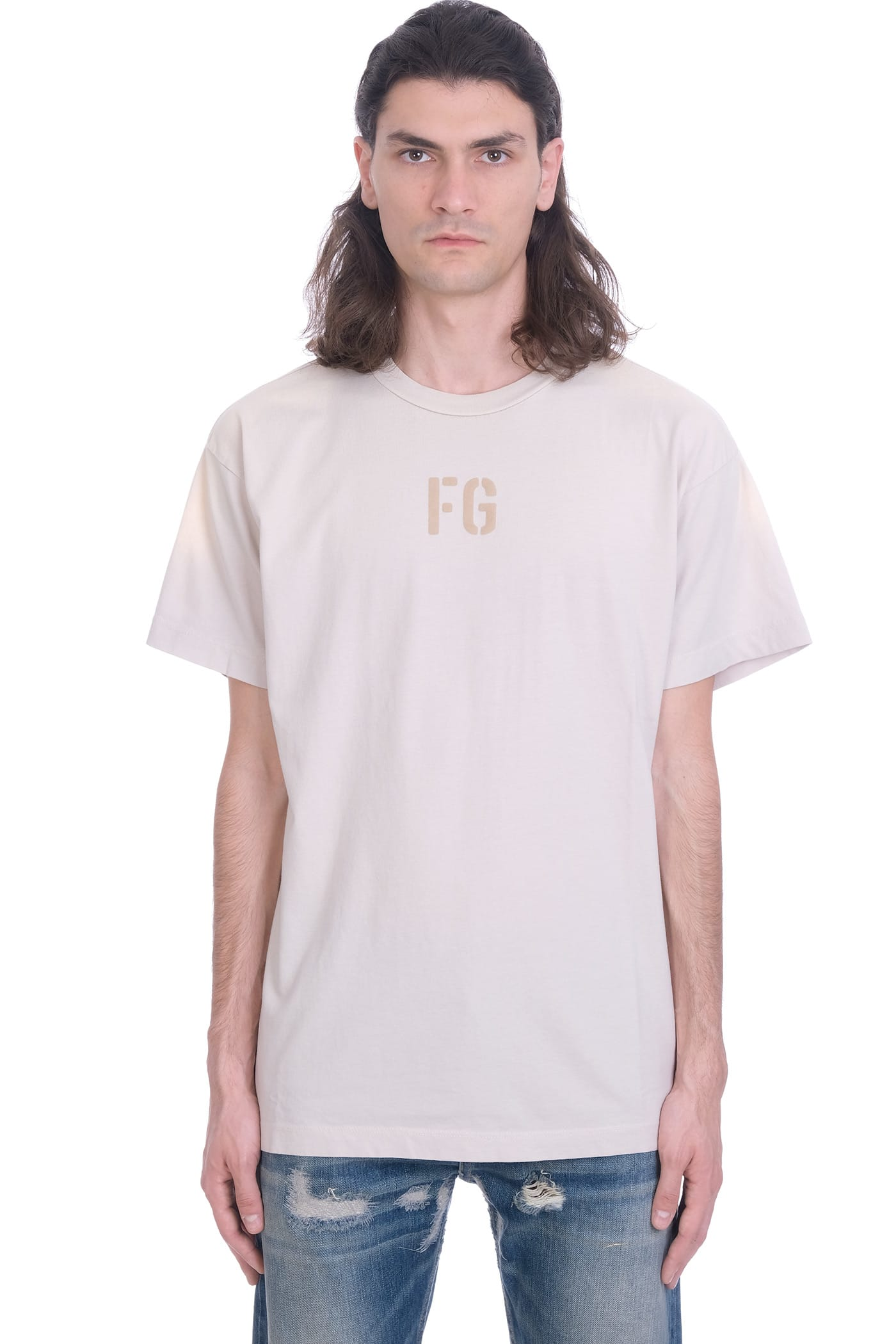 Fear Of God T-shirts T-SHIRT IN WHITE COTTON