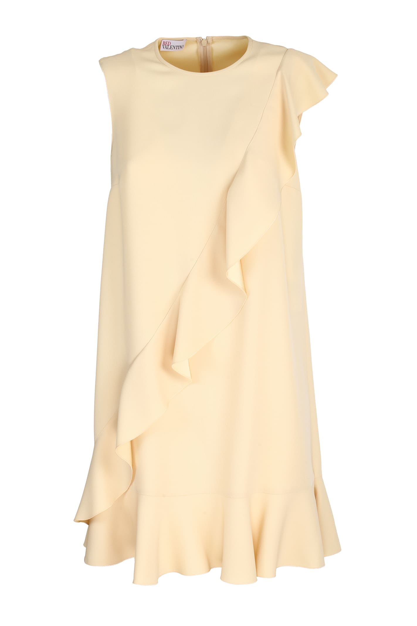 Buy Red Valentino crepe envers satin dress online, shop RED Valentino with free shipping
