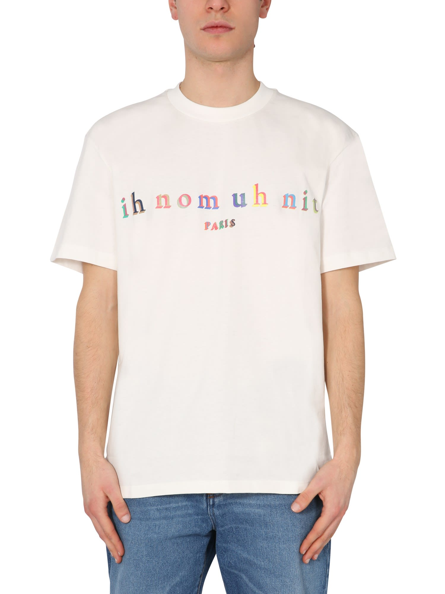 Ih Nom Uh Nit T-shirts T-SHIRT WITH LOGO