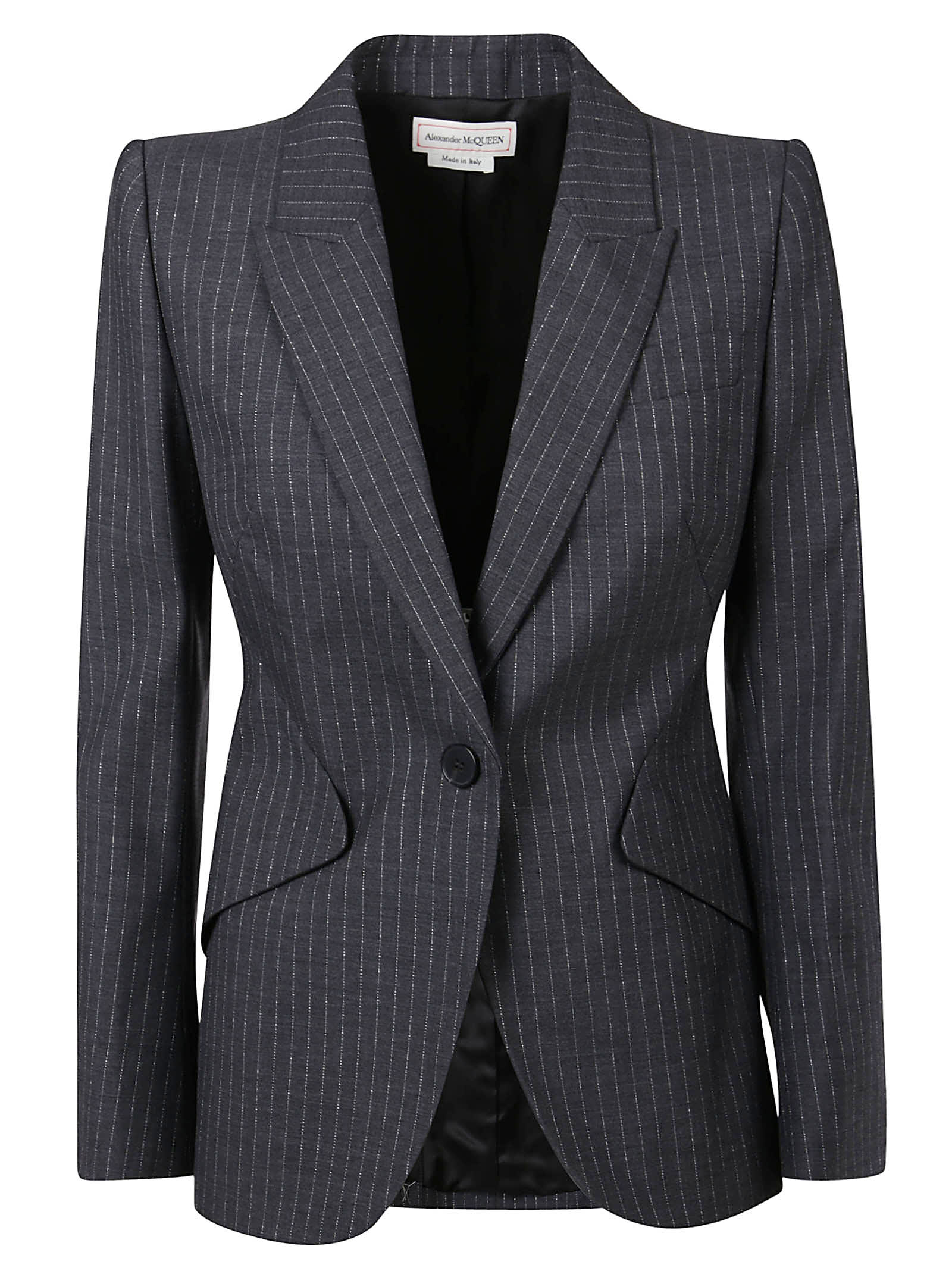 Alexander McQueen Single-buttoned Blazer