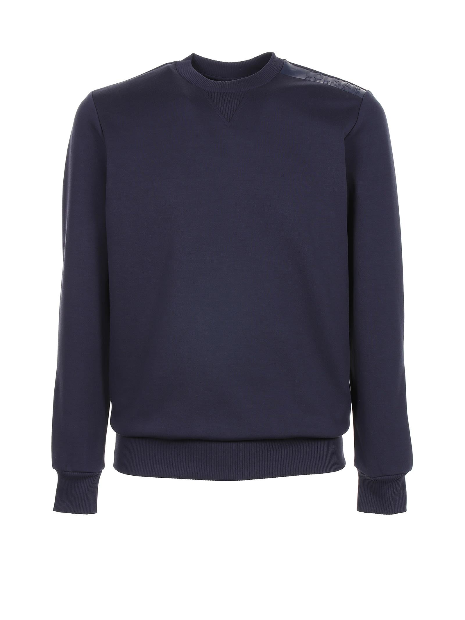 Colmar Sweatshirts SWEATSHIRT IN BLUE COTTON