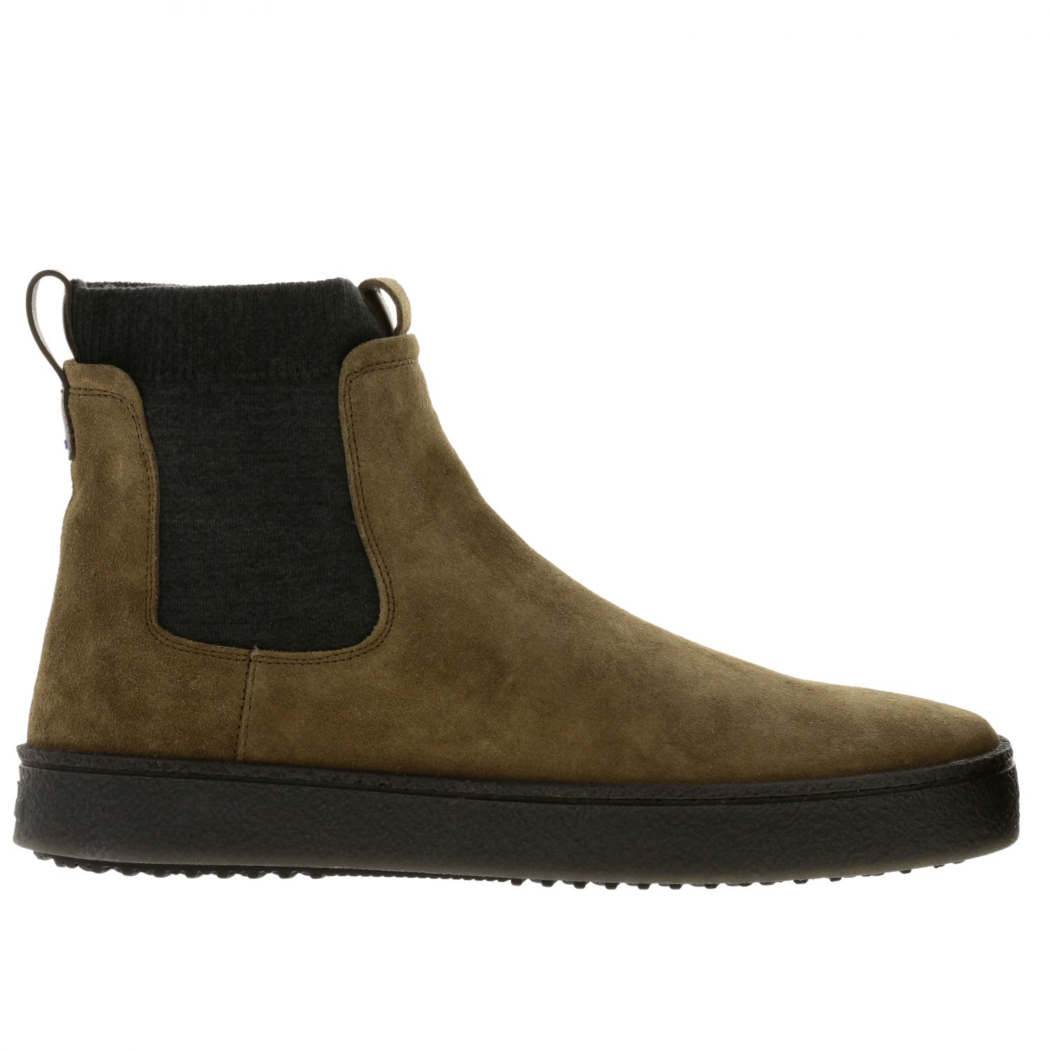 Hogan Boots Chelsea Hogan 476 Casual Sneakers In Suede With Wool Sock