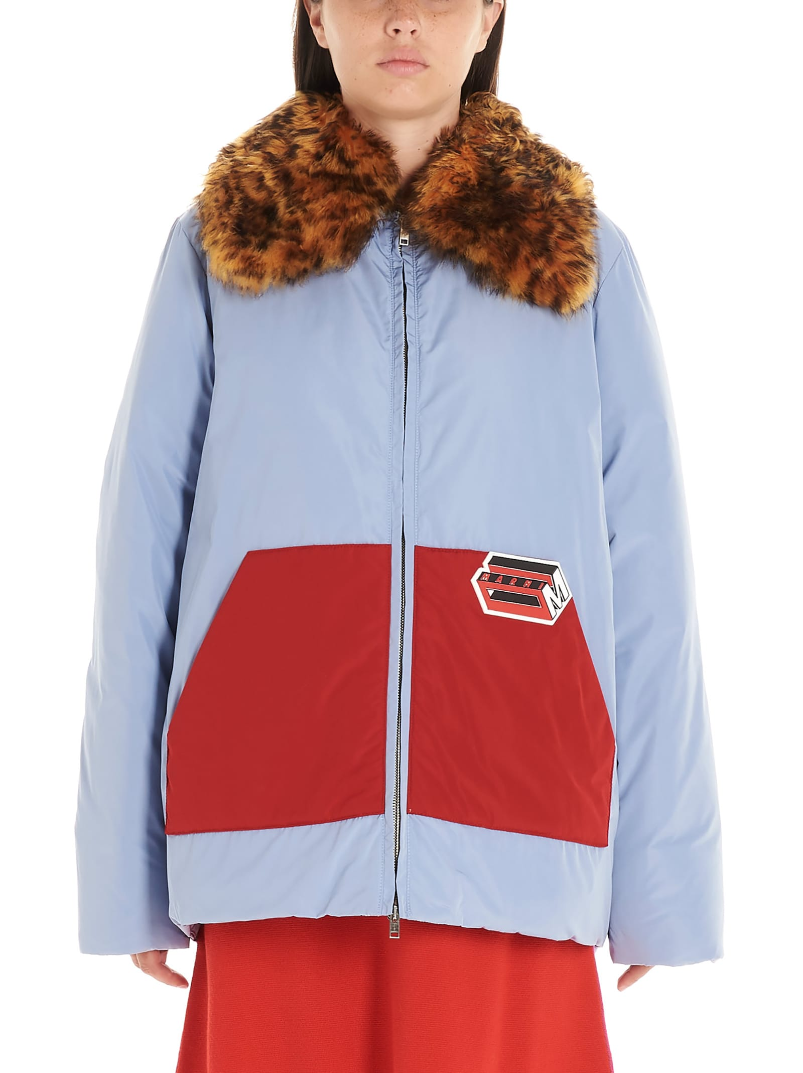 Marni Logo Patch Jacket