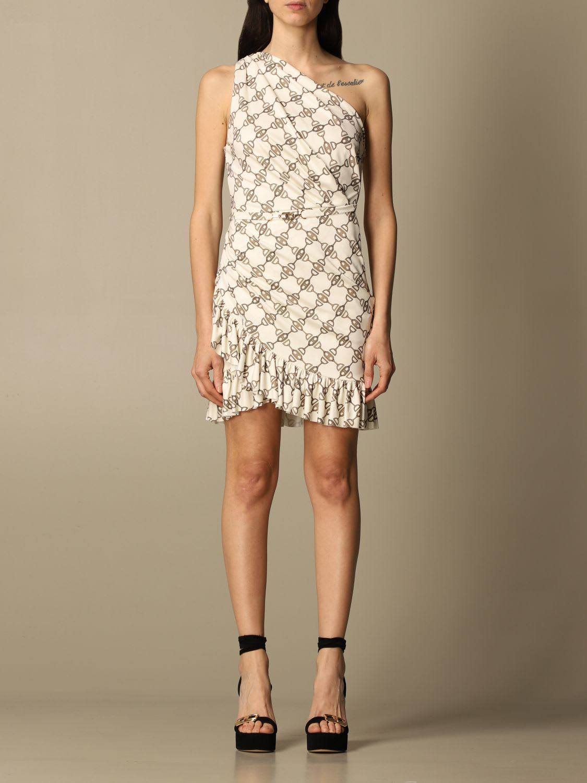 Elisabetta Franchi Celyn B. SHORT DRESS WITH ALL-OVER PATTERN