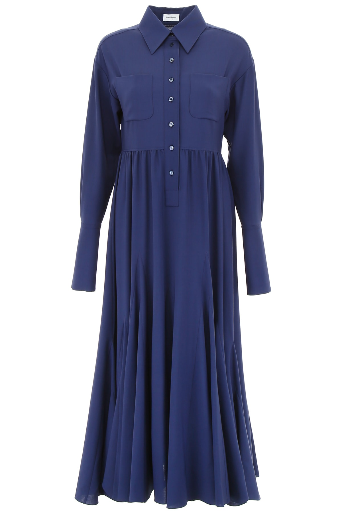 Salvatore Ferragamo Wool Dress
