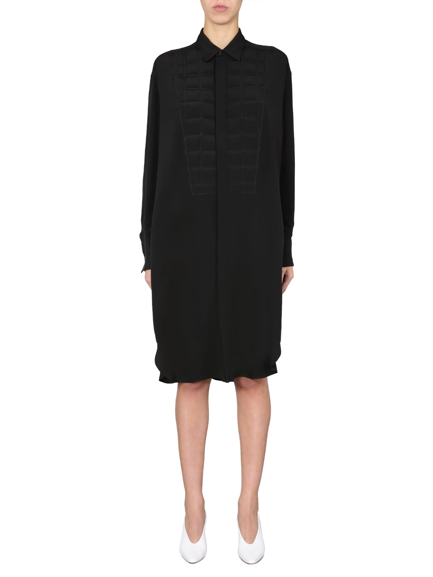 Buy Bottega Veneta Chemisier Dress online, shop Bottega Veneta with free shipping