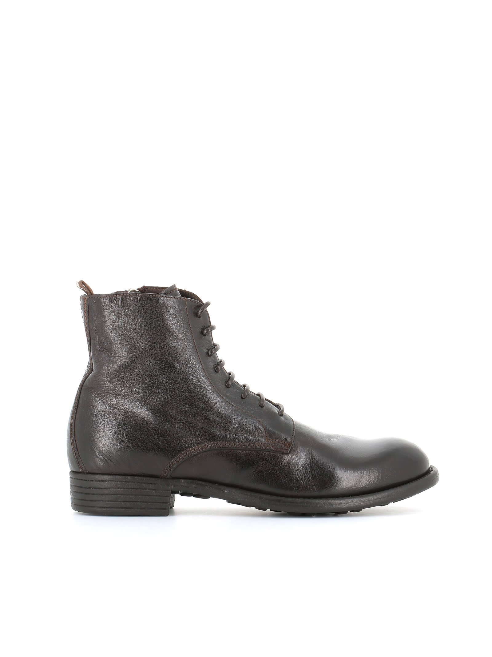 Officine Creative LACE-UP BOOT CALIXTE/002