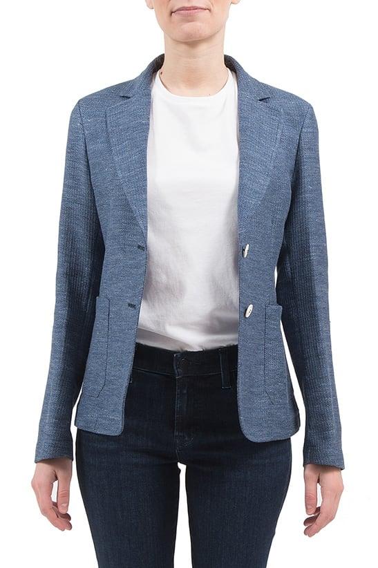 T-jacket - Jacket In Azure