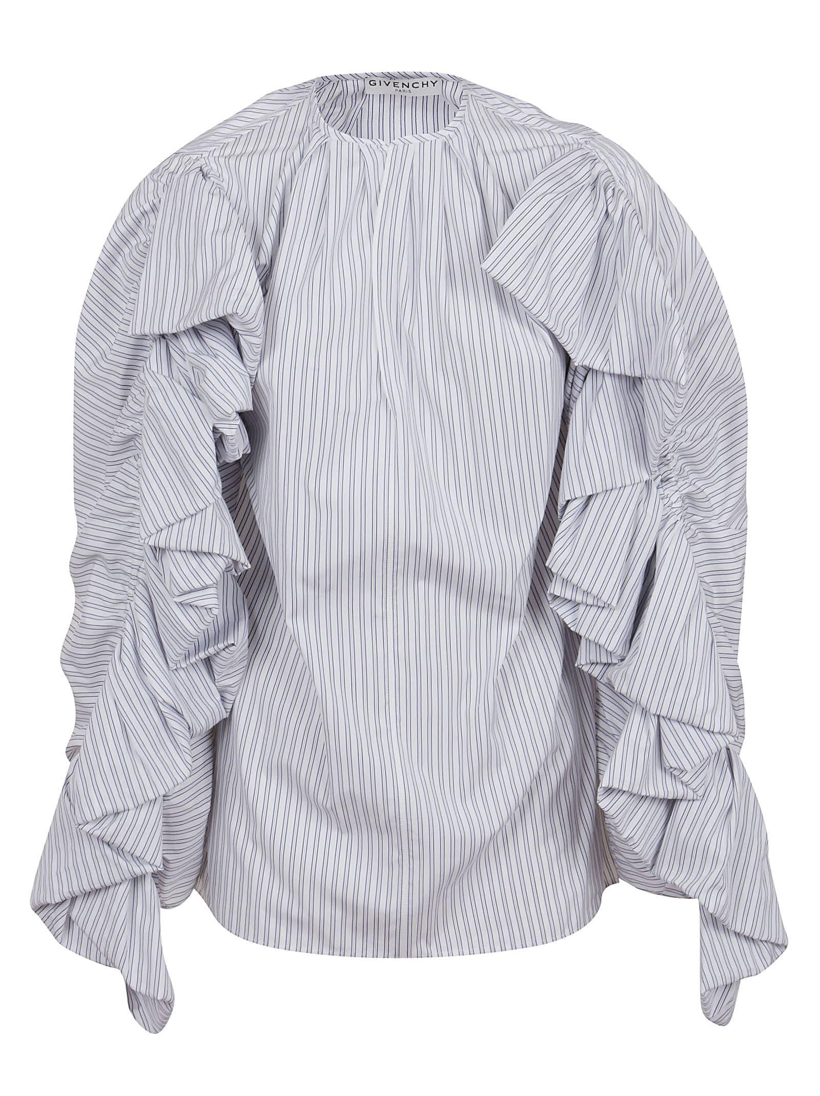 Givenchy Shirt With Ruffled Sleeves