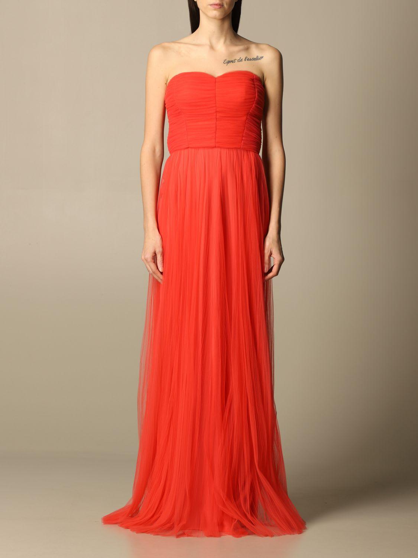 Elisabetta Franchi Dress Elisabetta Franchi Long Dress In Tulle