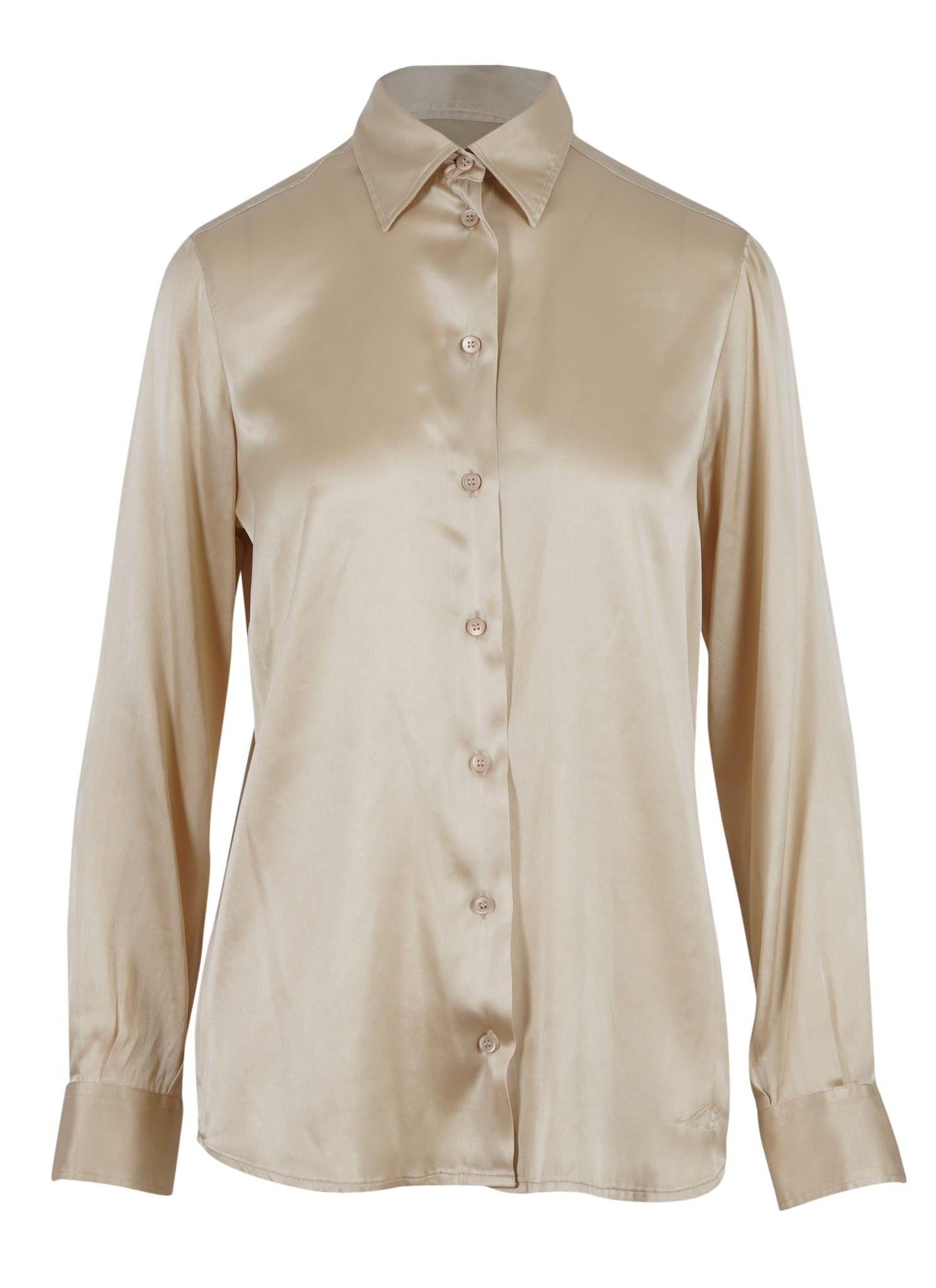 Camicia Silk Satin Shirt