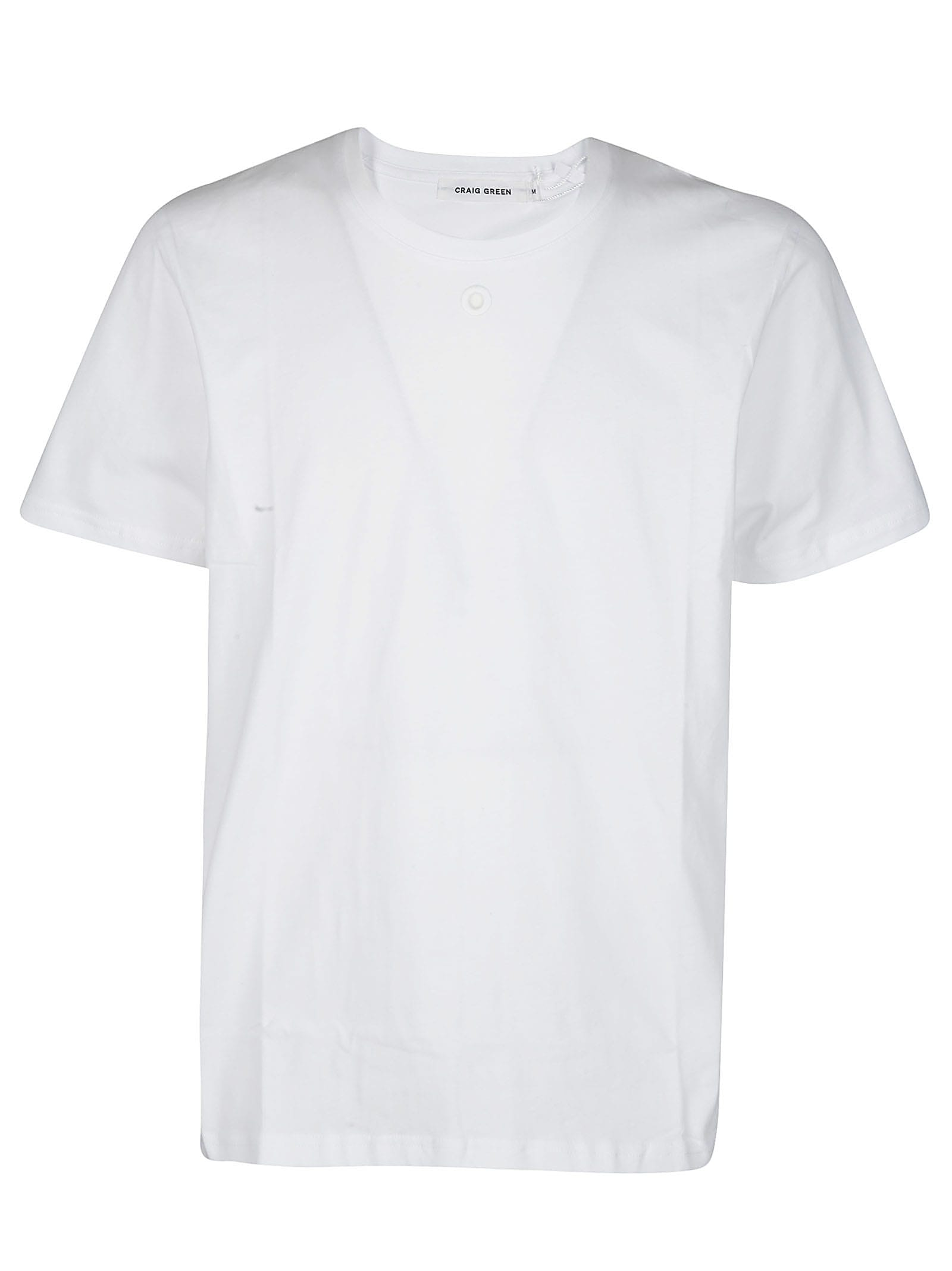Craig Green White Cotton T-shirt
