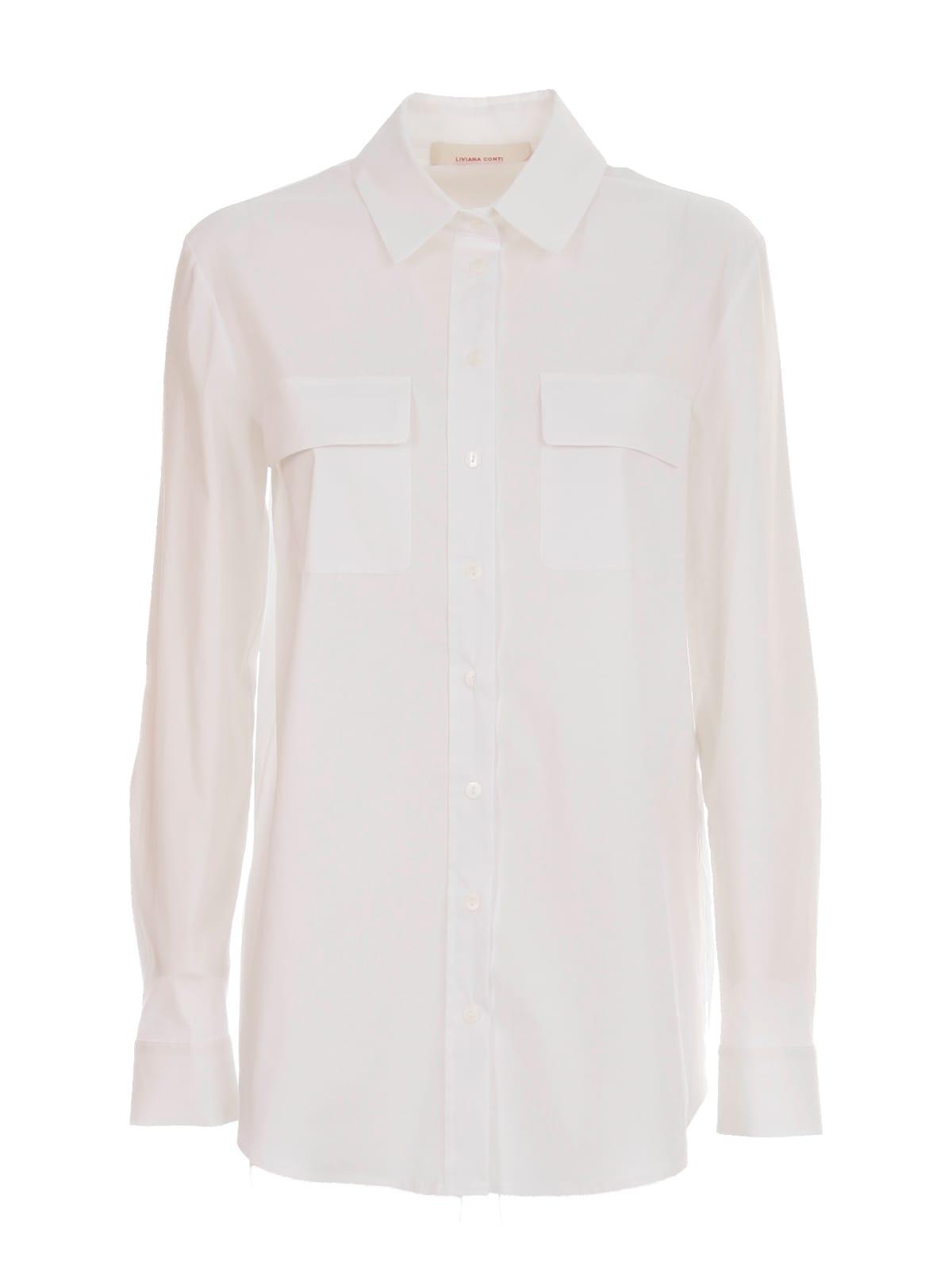 Shirt L/s W/pockets