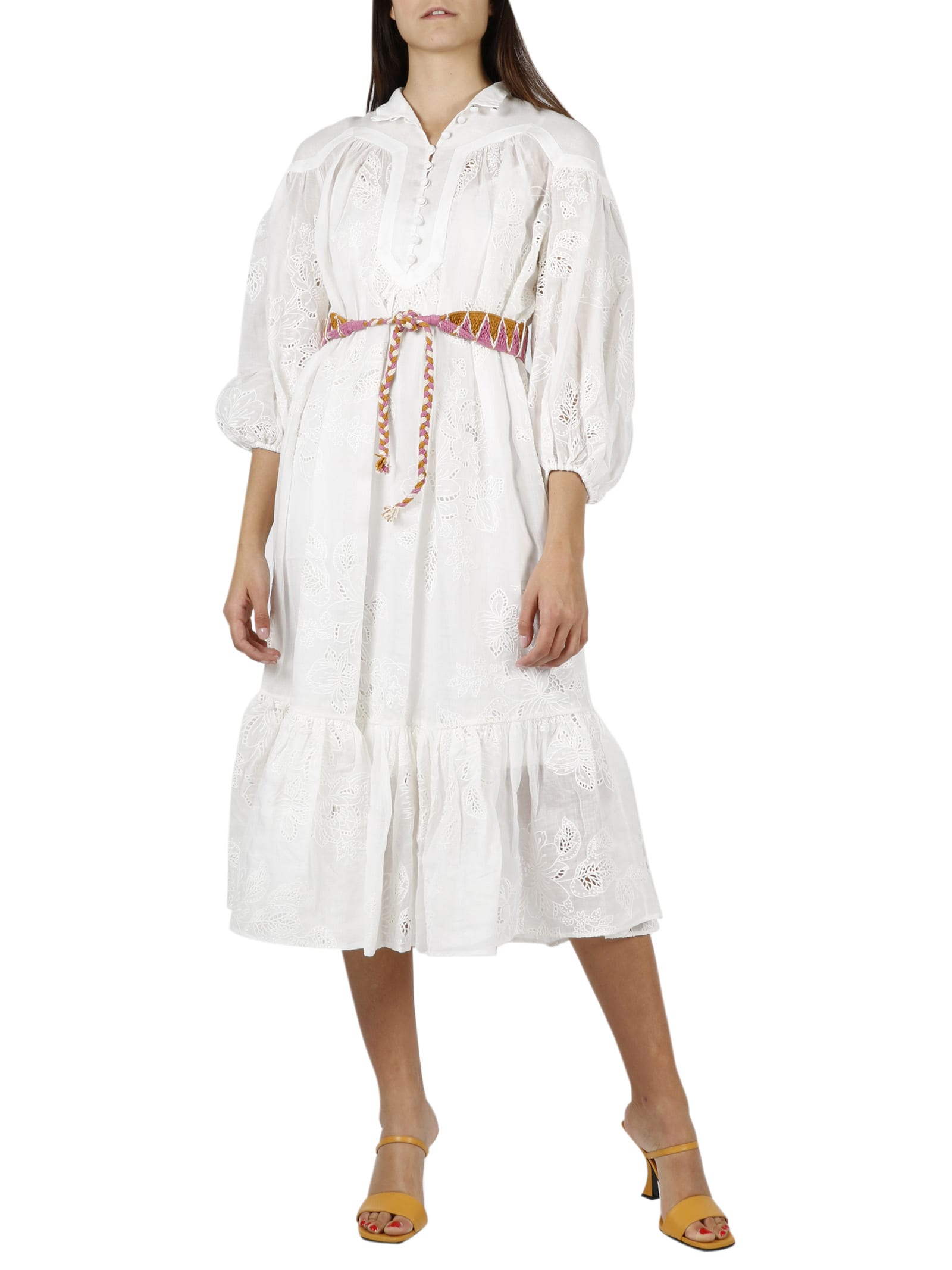 Buy Riders Panelled Dress online, shop Zimmermann with free shipping