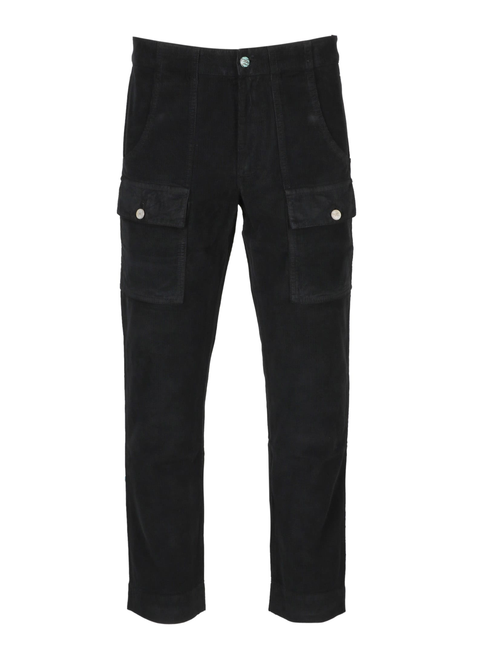 Palm Angels Corduroy Pockets Pants