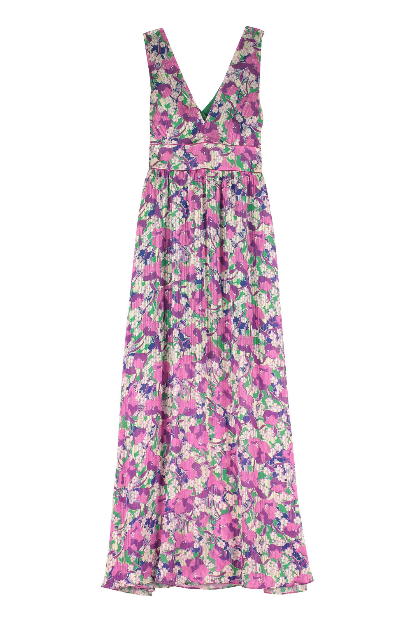 Buy Pinko Hasko Floral Print Maxi Dress online, shop Pinko with free shipping