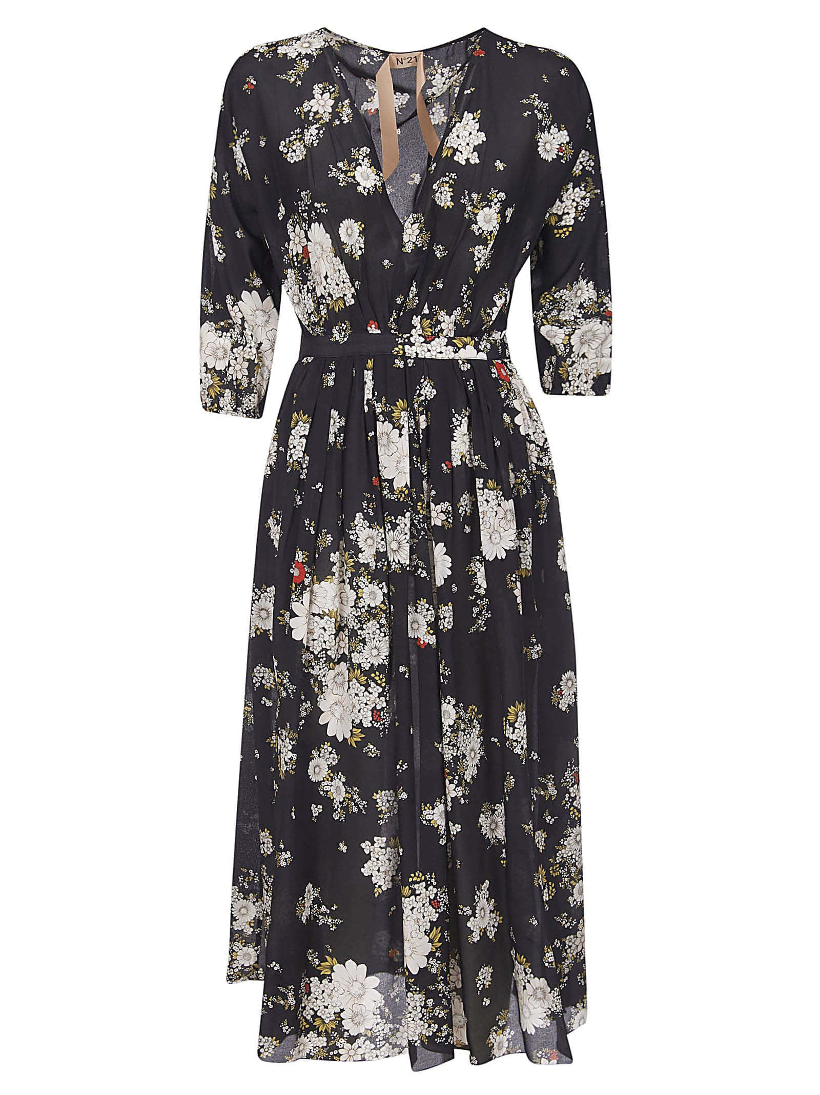 Buy N.21 Floral Print Dress online, shop N.21 with free shipping