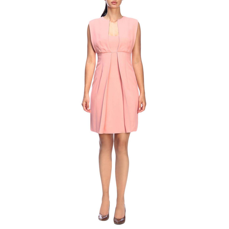 Emporio Armani Dress Emporio Armani Sleeveless Dress In Crêpe