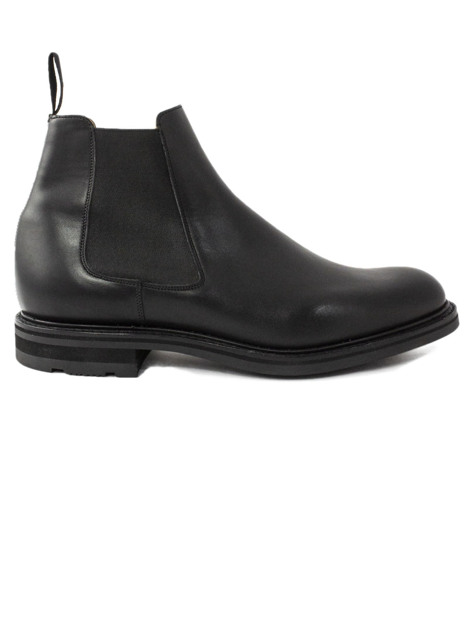 Churchs Welwyn Black Chelsea Boot