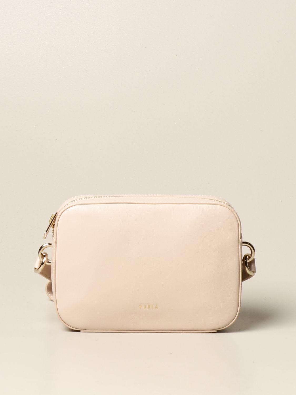 Furla Crossbody Bags Furla Block Leather Bag
