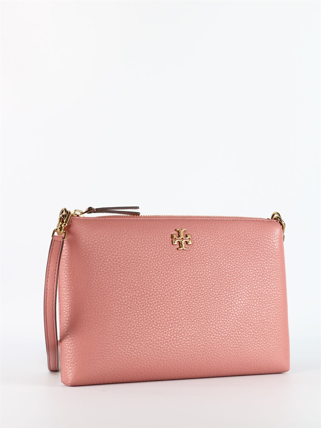 Tory Burch Kira Leather Bag Pink