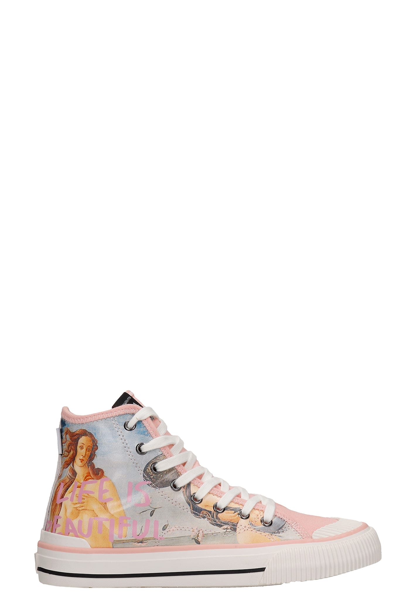 M.O.A. master of arts Sneakers In Rose-pink Canvas