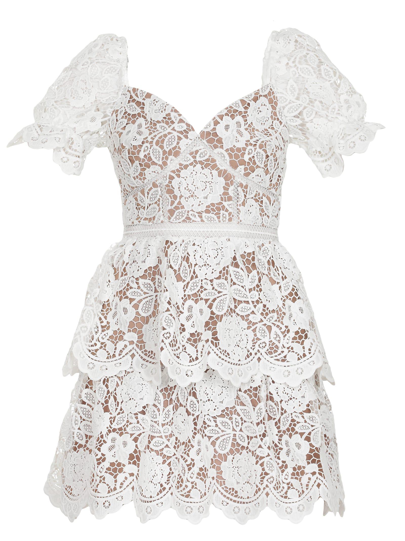 Buy self-portrait Laces Dress online, shop self-portrait with free shipping
