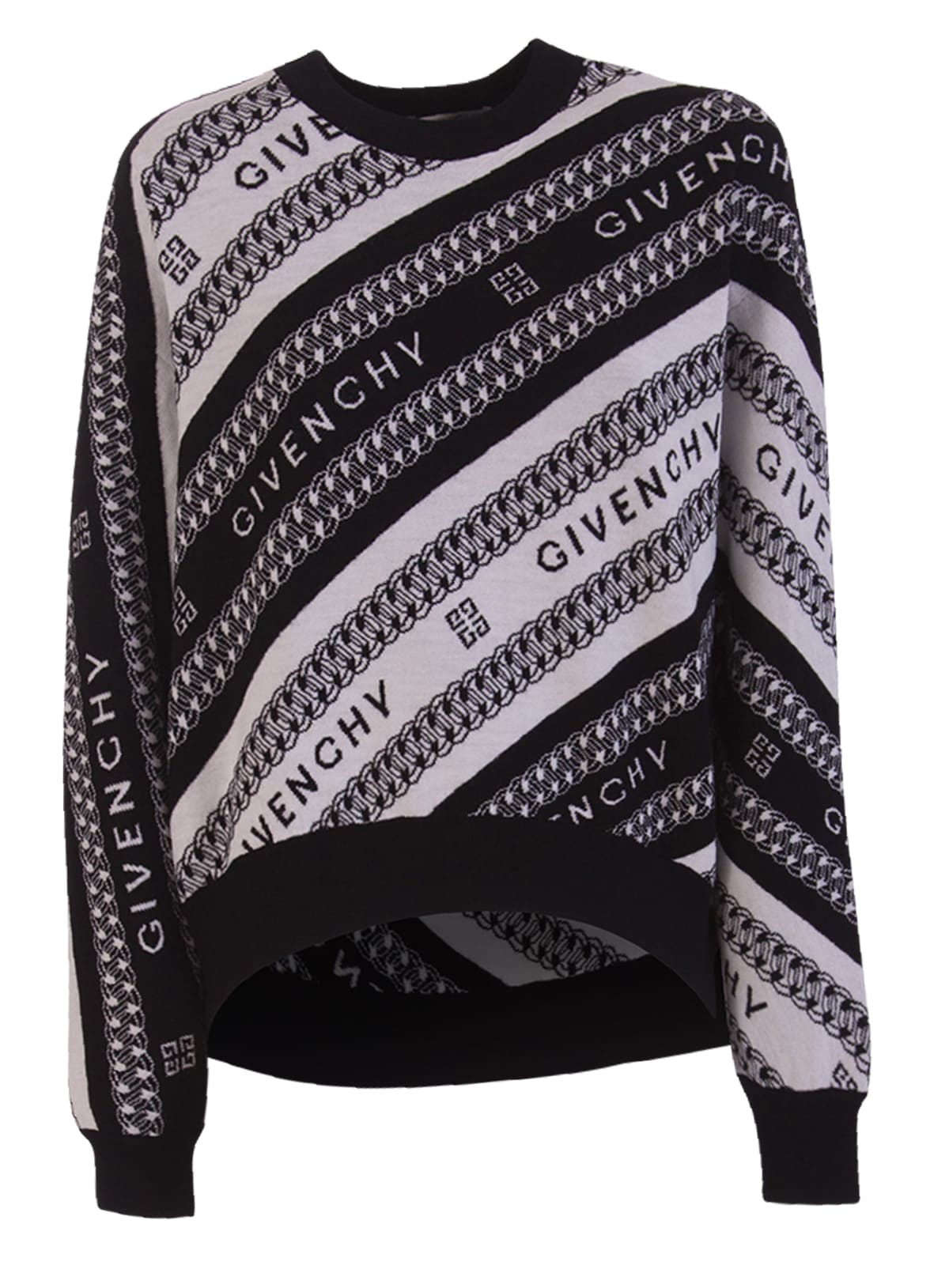 Givenchy CHAINE JACQUARD PULLOVER