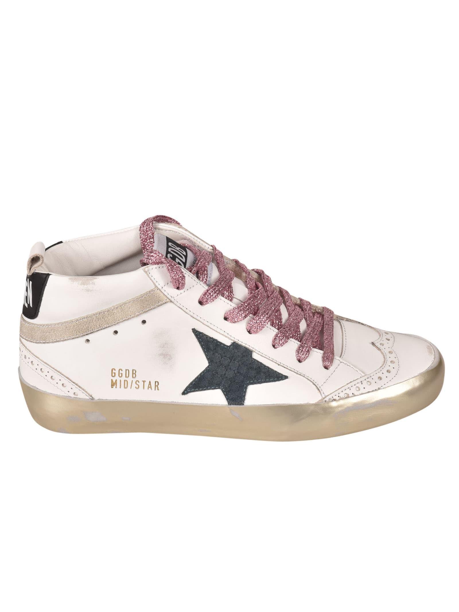 Golden Goose Mid Star Classic Sneakers