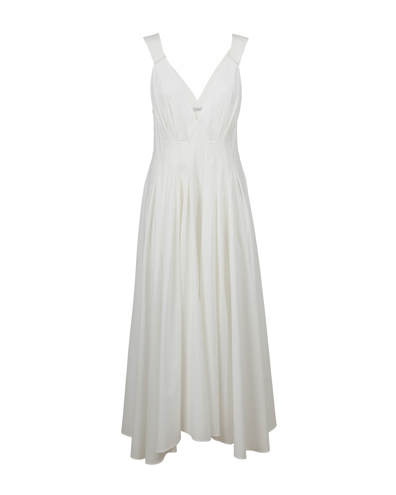 Brunello Cucinelli cotton poplin dress