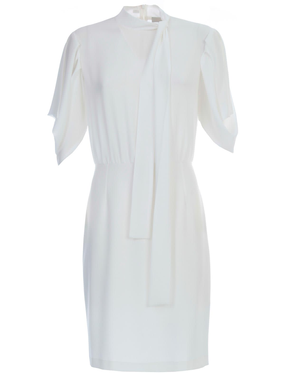 Buy Be Blumarine Dress L/s W/scarf On Neck online, shop Be Blumarine with free shipping