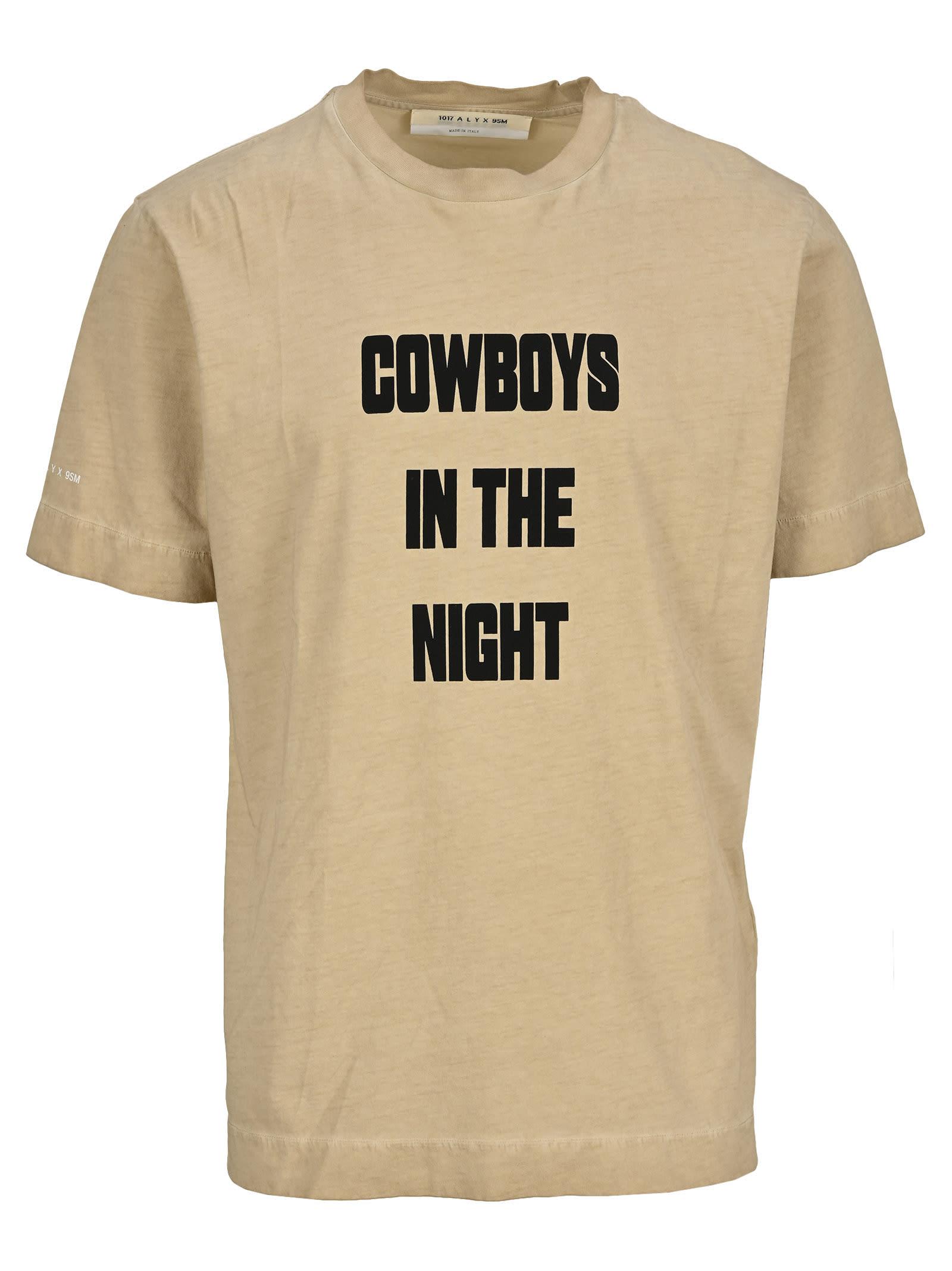 Alyx ALYX COWBOYS IN THE NIGHT T-SHIRT