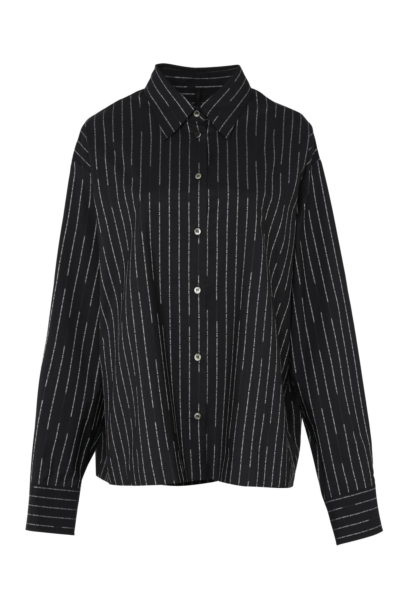 Oversize Striped Shirt