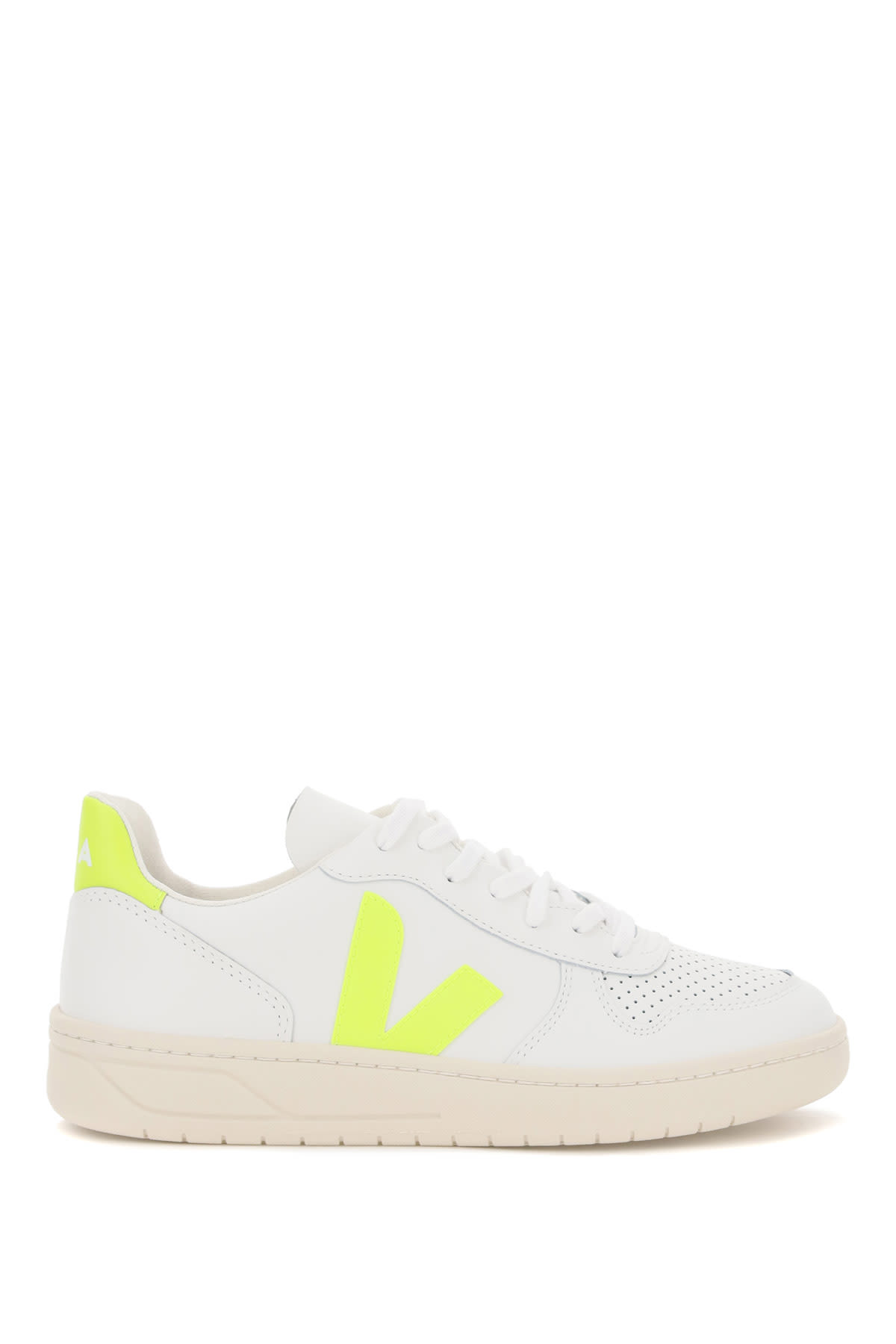 Veja Shoes V-10 LEATHER SNEAKERS
