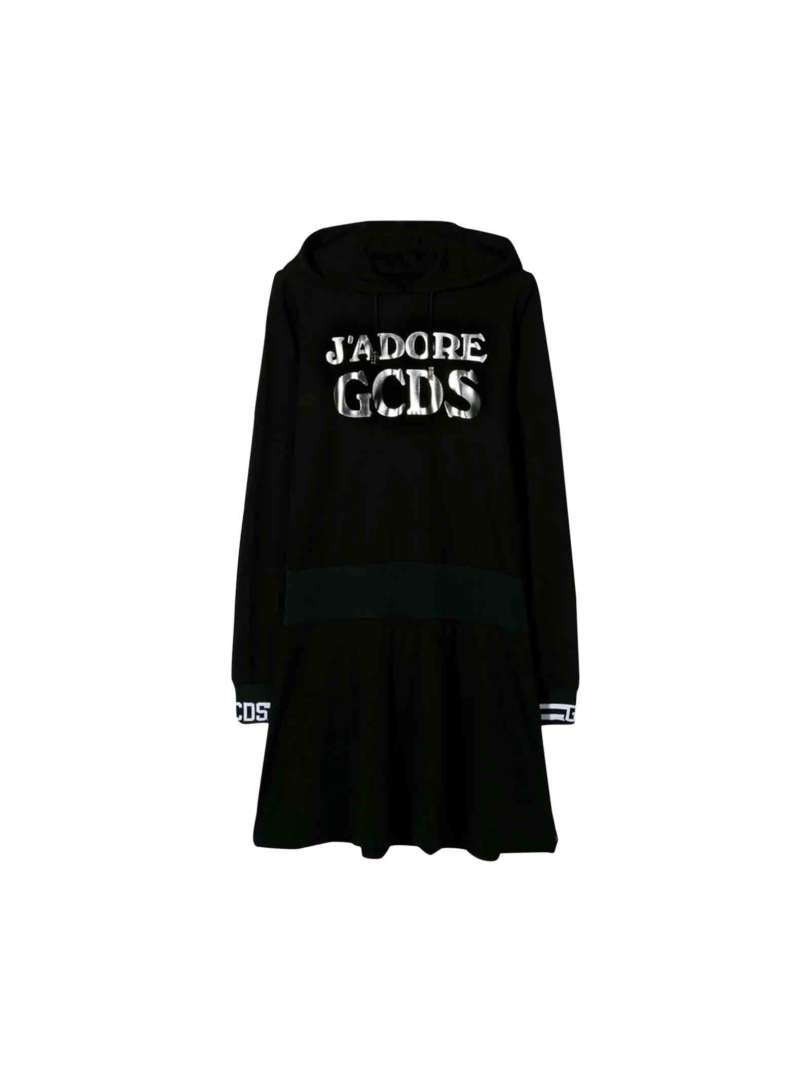 GCDS Mini Black Gcds Dress
