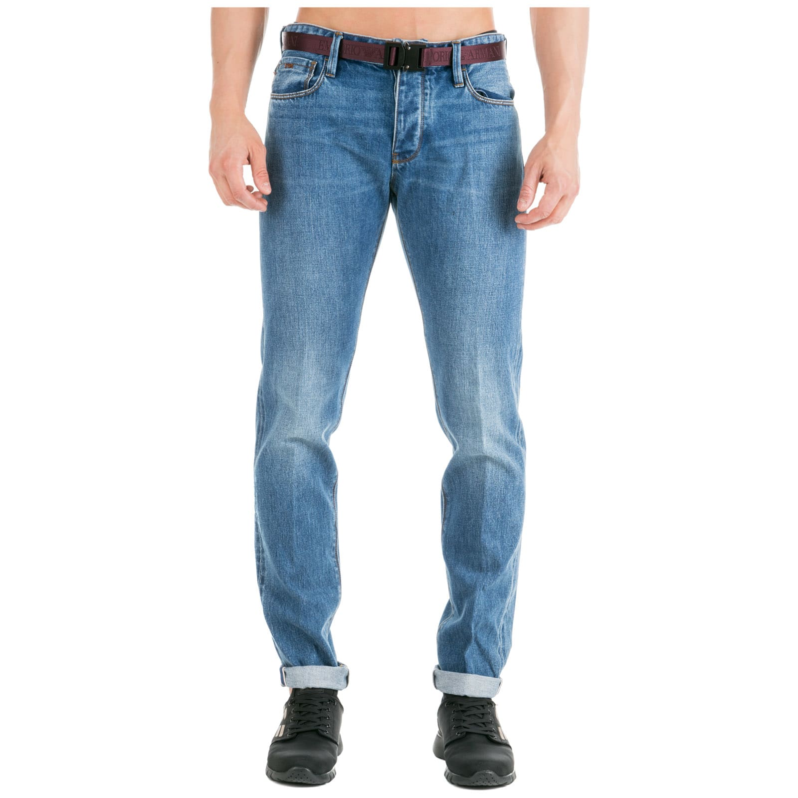 15d276caa Emporio Armani Jeans Denim Slim Fit