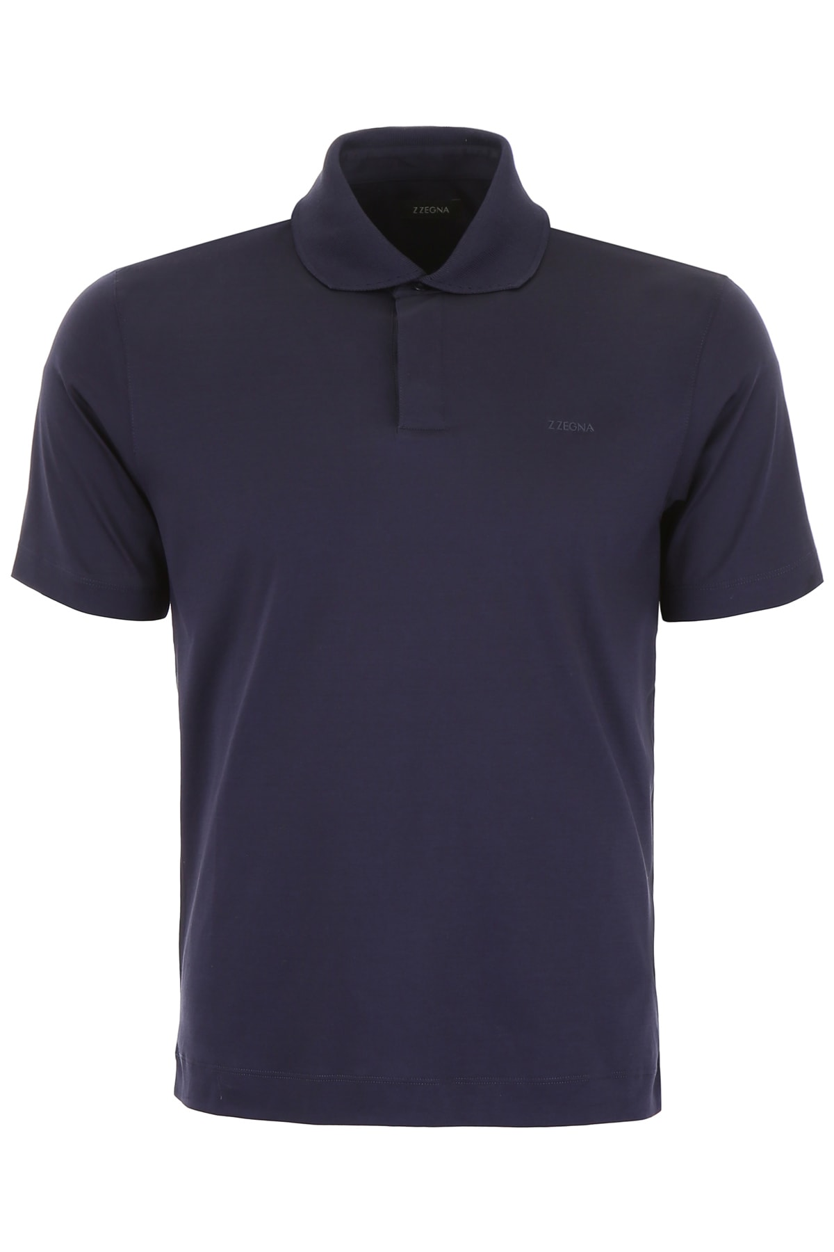 0932aa74 Z Zegna Polo Shirt With Rubber Logo