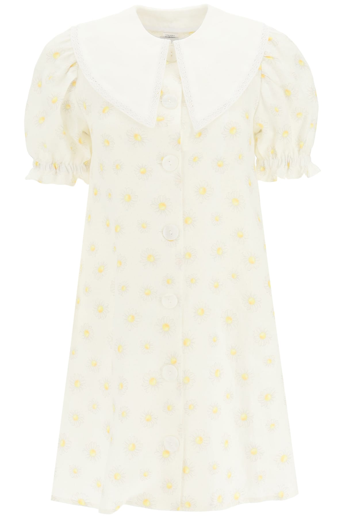 Buy Sleeper Marie Daisy Print Mini Dress online, shop Sleeper with free shipping