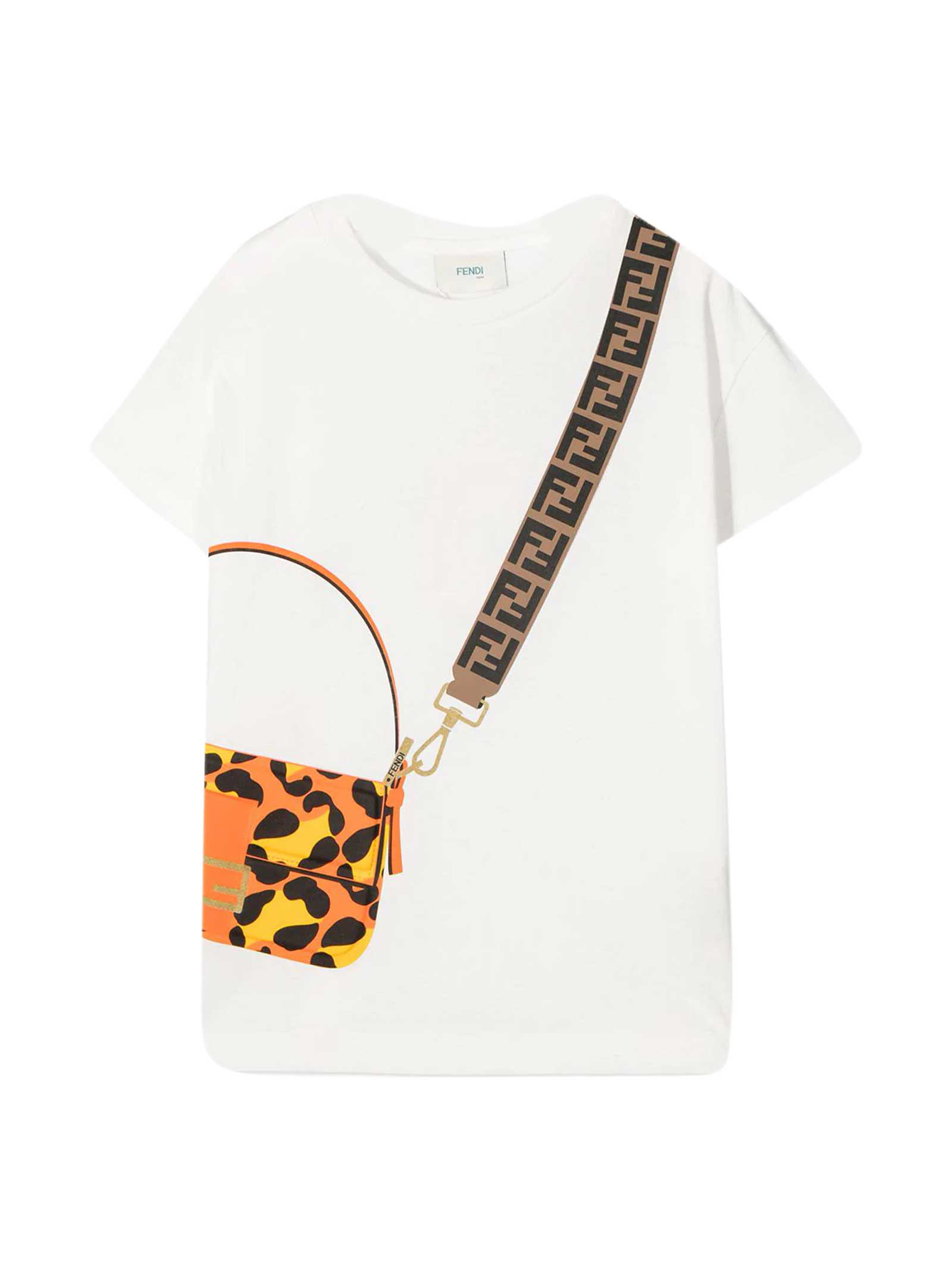 Fendi WHITE T-SHIRT
