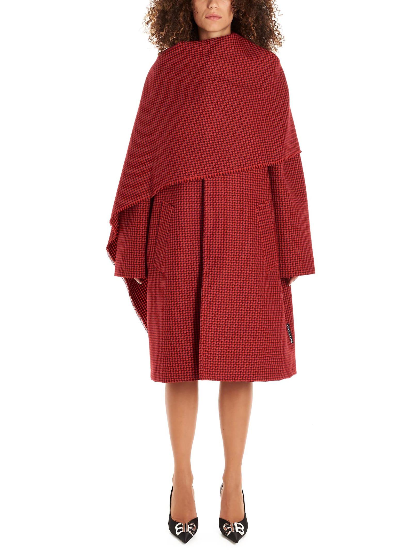 Balenciaga scarf Coat