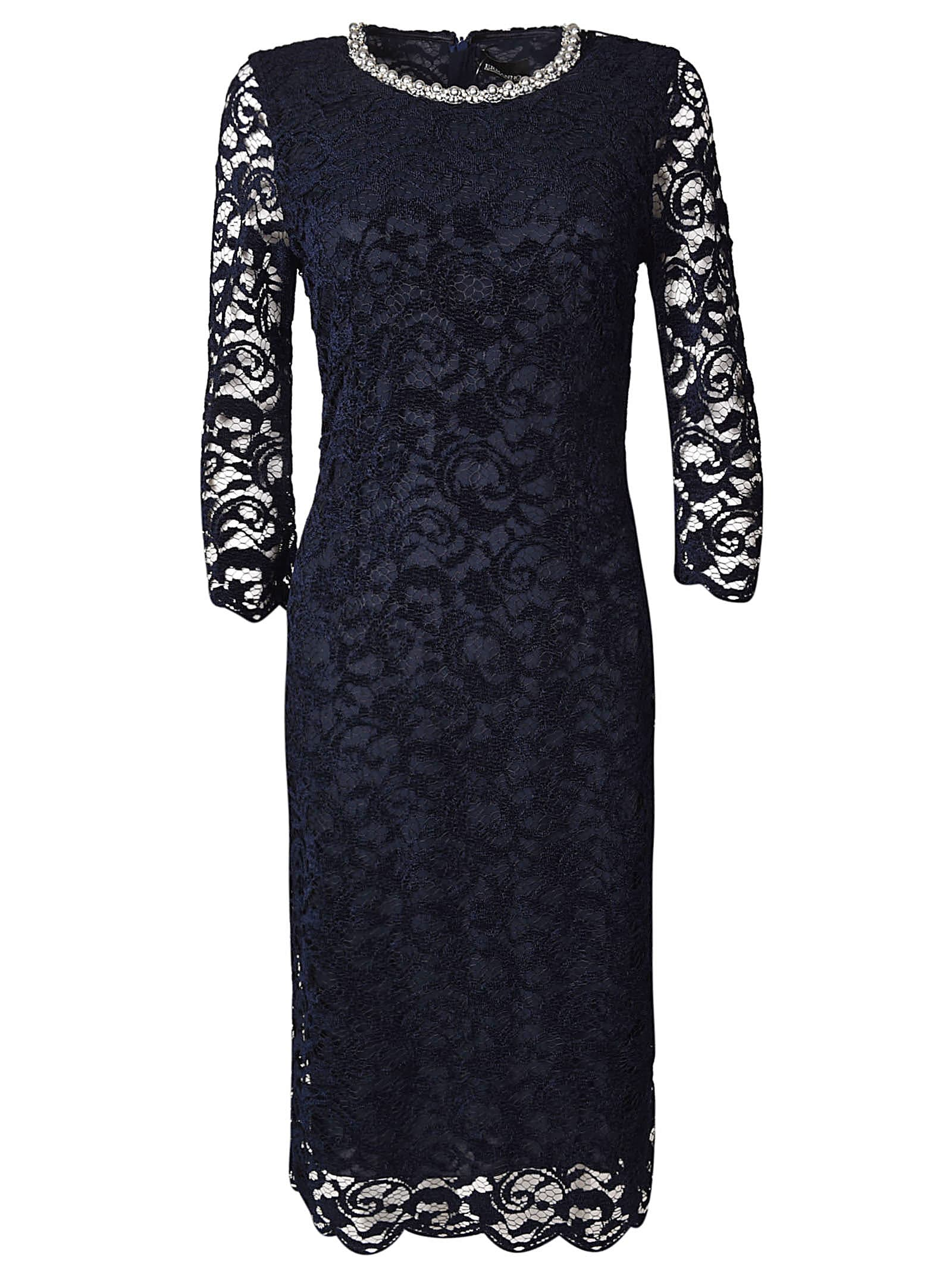 Photo of  Ermanno Ermanno Scervino Lace Detail Dress- shop Ermanno Ermanno Scervino  online sales