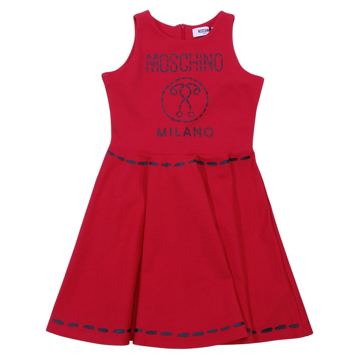 Moschino Red Viscose Dress