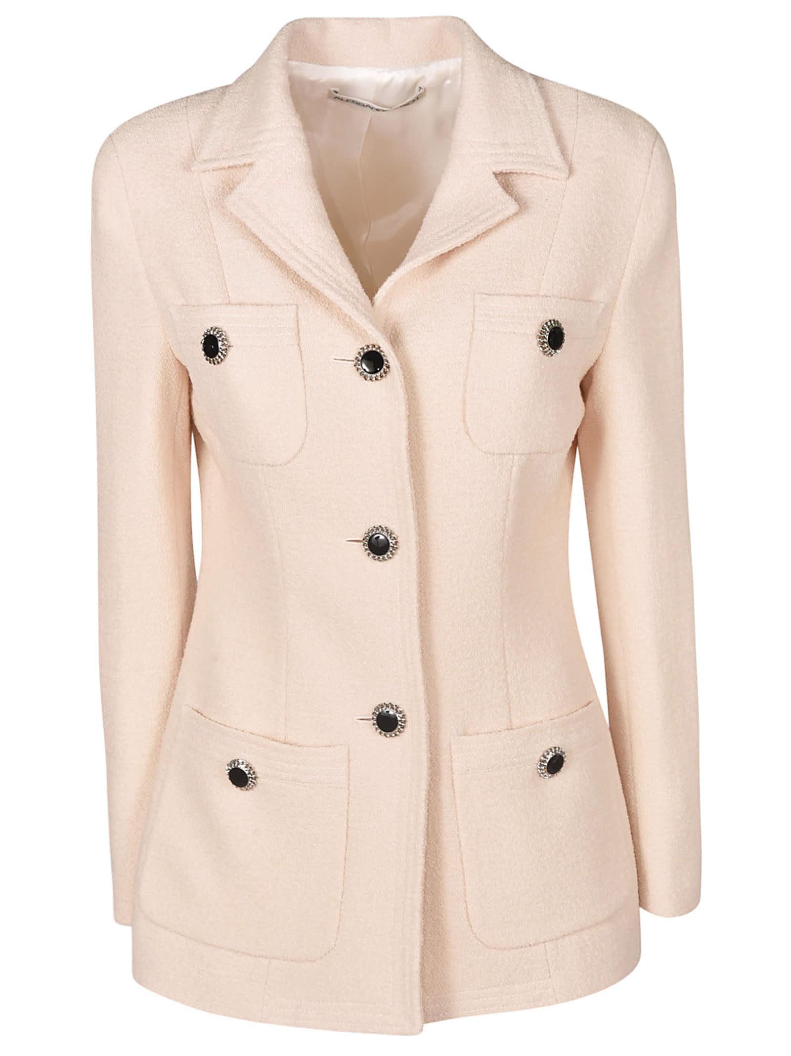 Alessandra Rich Three-button Quad Pocket Jacket