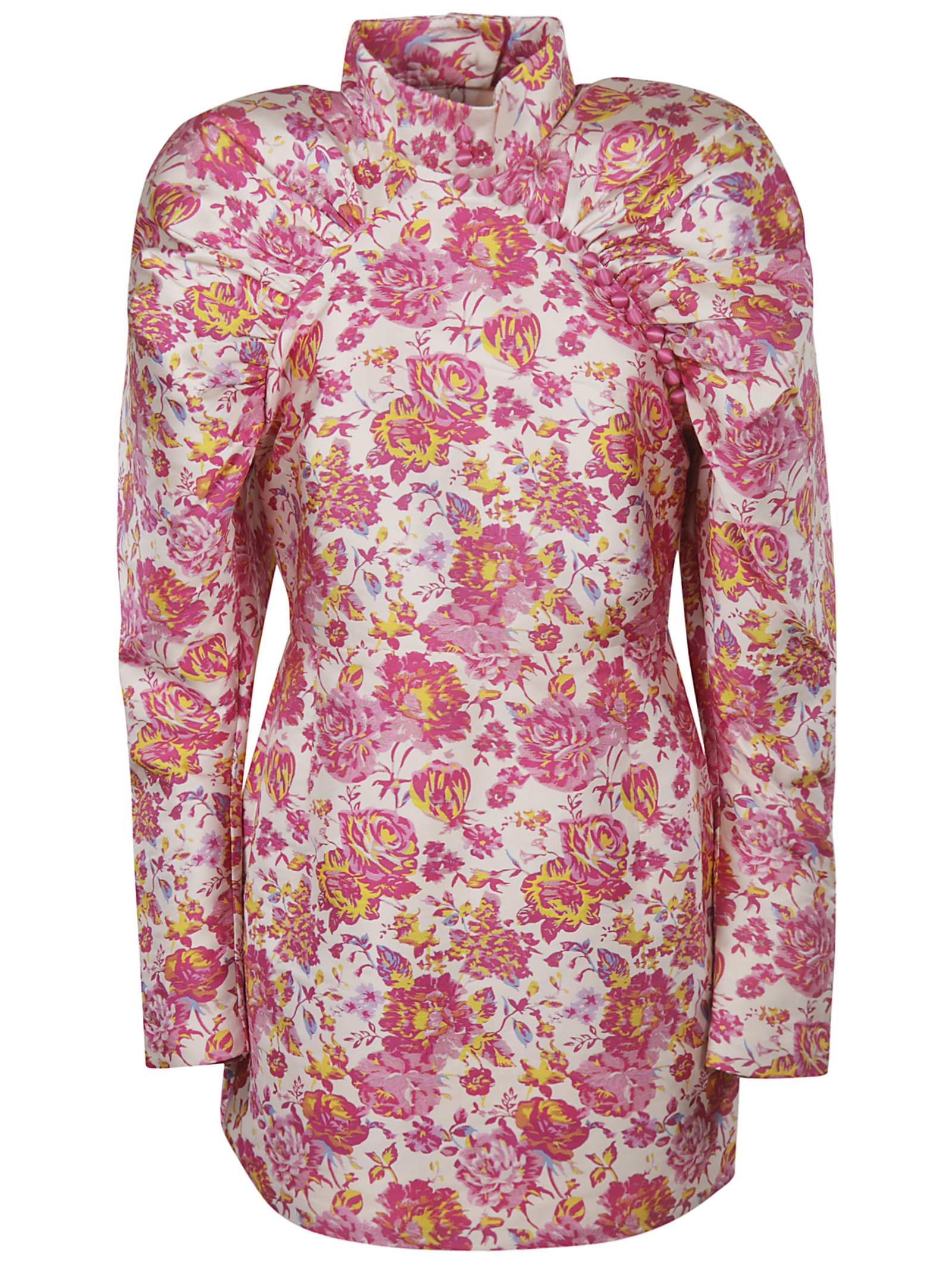 Rotate by Birger Christensen Floral Dress