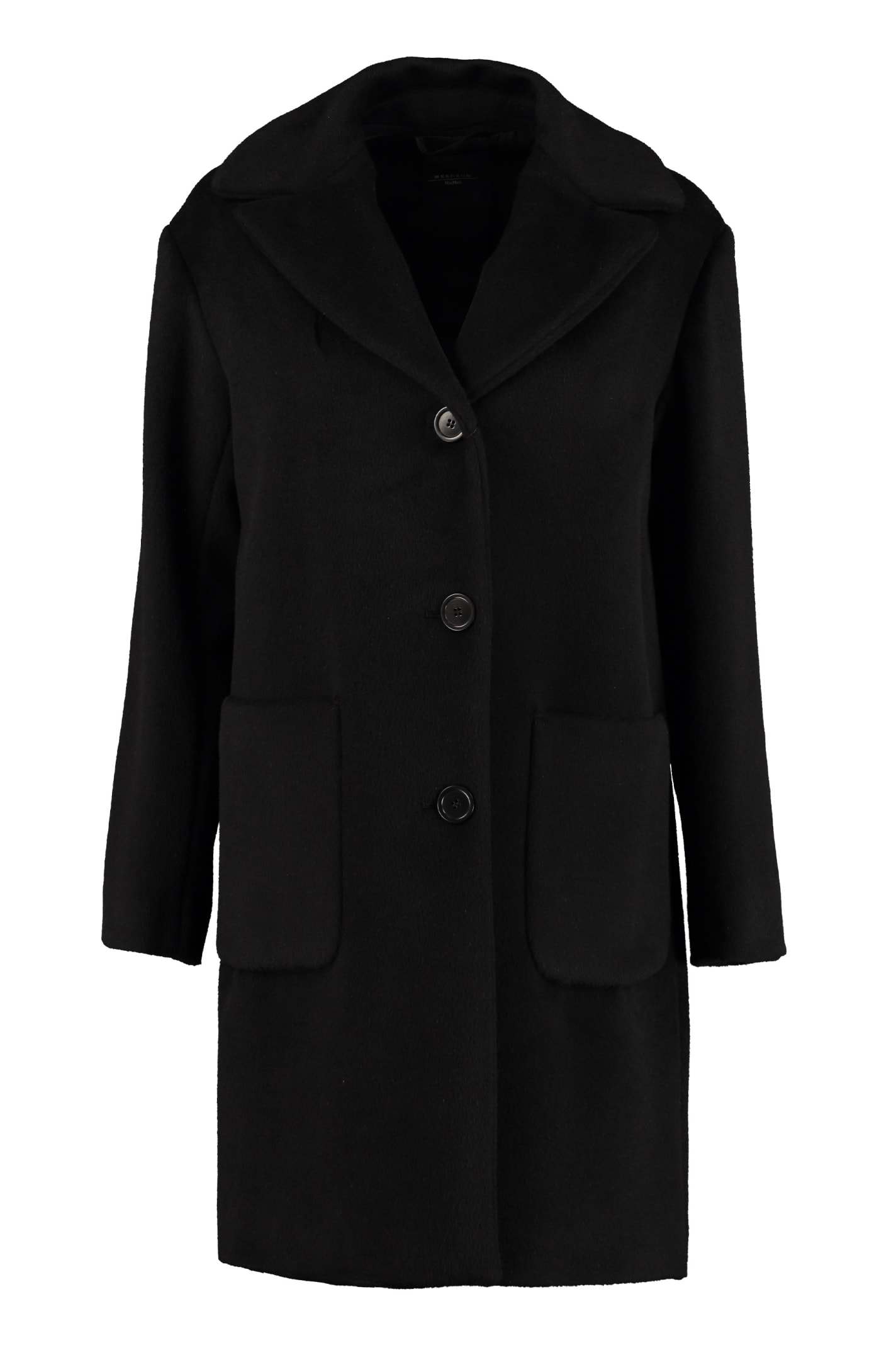 Weekend Max Mara Oliveto Wool And Alpaca Coat