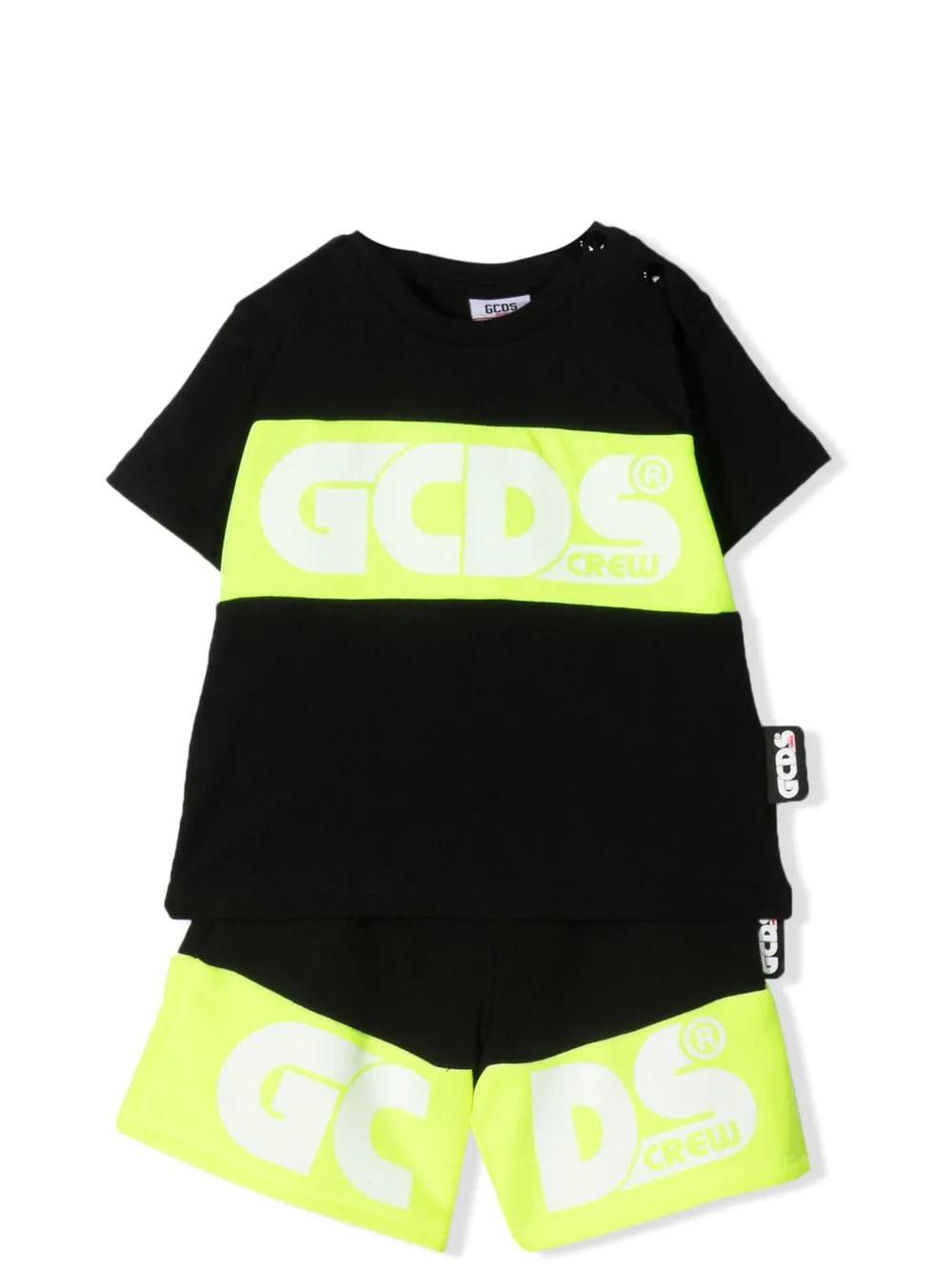 Gcds Mini Sets BERMUDA SHORTS AND T-SHIRT SET
