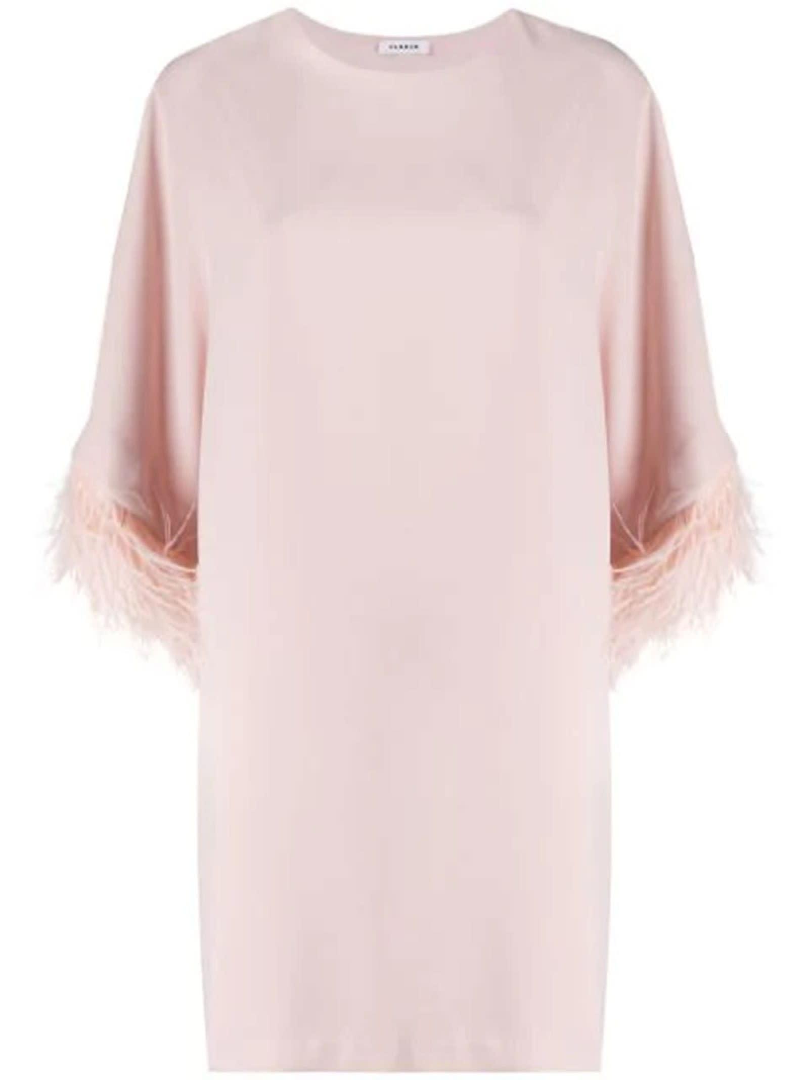 Buy Parosh Panters Nude Dress online, shop Parosh with free shipping