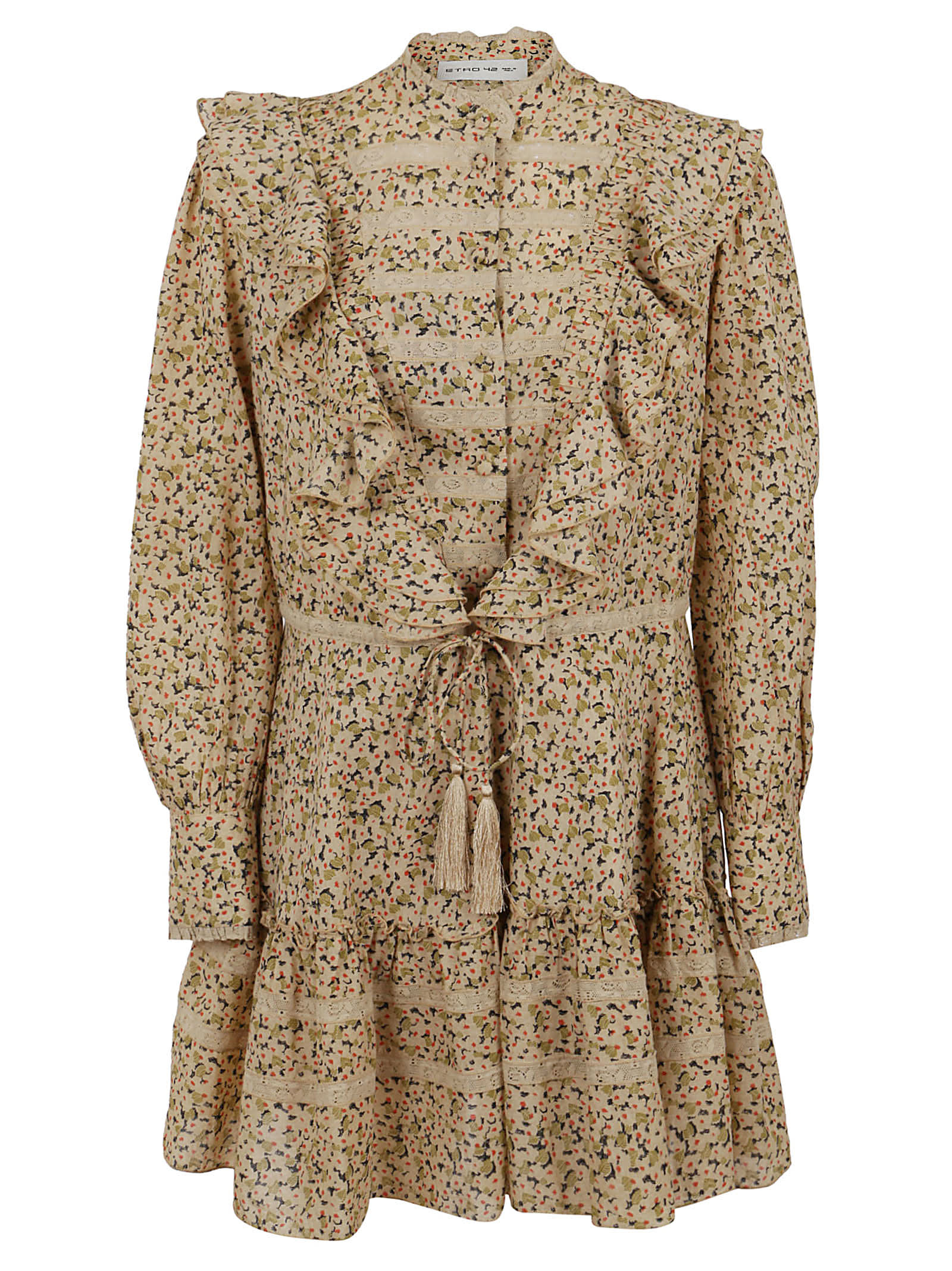 Buy Etro Margaret Shirt Dress online, shop Etro with free shipping