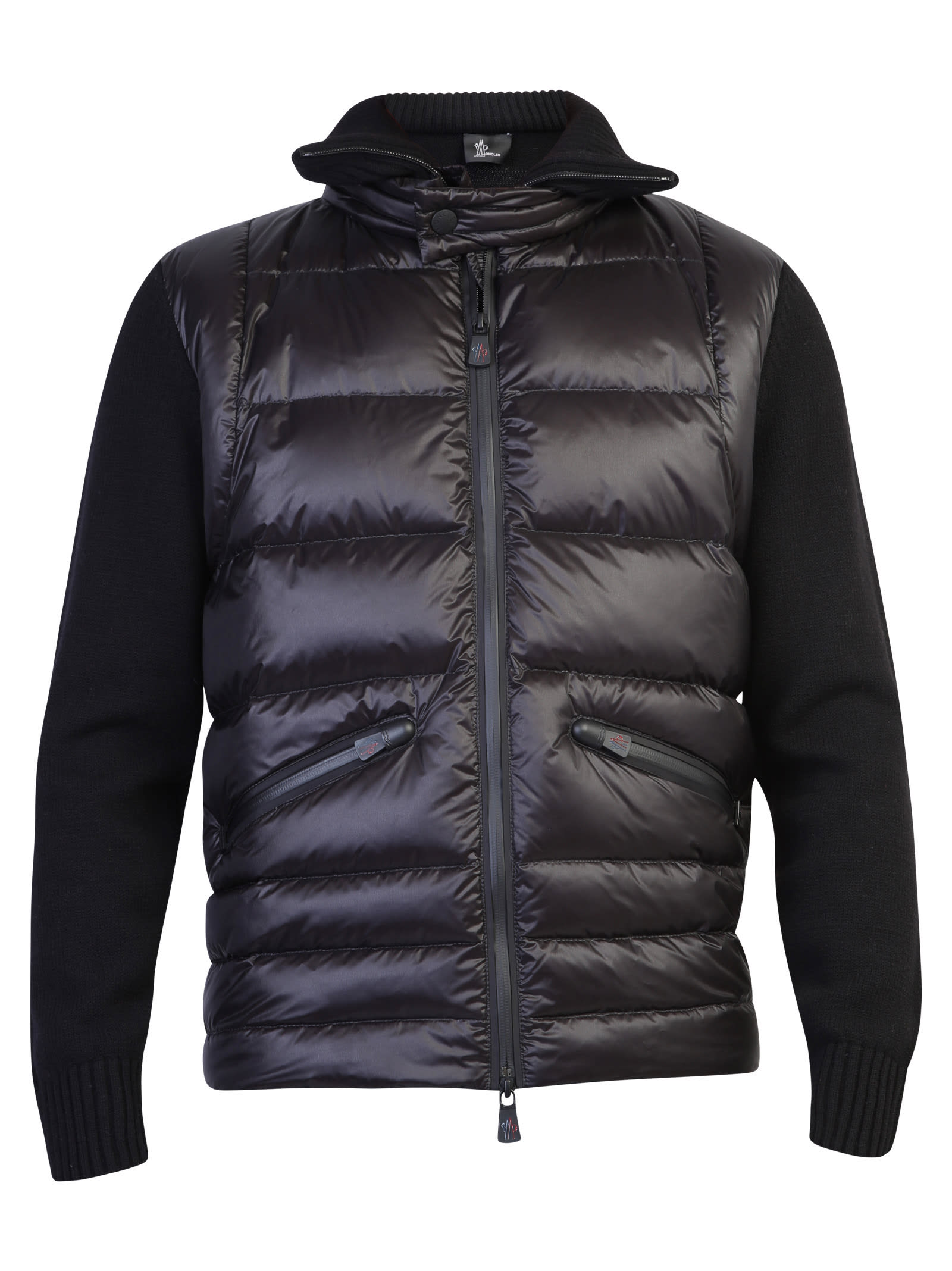 Moncler Grenoble Tops ZIPPED CARDIGAN